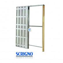 Controtelaio Scrigno porte scorrevoli per cartongesso 600 x 2100 mm