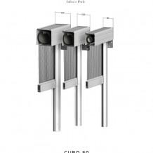 zanzariera verticale cubo 80